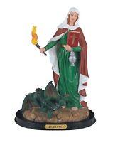 "12"" Inch Santa Marta Martha Statue Figurine Figure Religious Saint St"