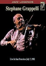 Rare Jazz DVD_STEPHANE GRAPPELLI_Live in San Francisco_JULY 7, 1982 (58 minutes)