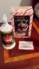 AB Budweiser Stein anheuser busch bud box coa  cs391  coke coca cola candy cane
