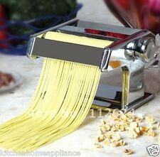 PASTA MAKER Machine Noodle Maker Dough Ravioli Spaghetti Liguini maker
