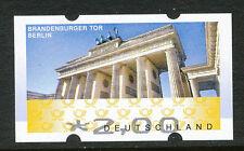 BRD Automatenmarke Brandenburger Tor € 2,00 postfr. ABART: Fehldruck des Wertes