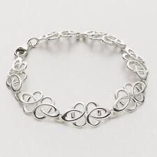 Écossais Ola Gorie Argent Massif 925 Tudor Bracelet Celtique