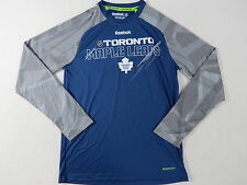Reebok Team Player Issued Toronto Maple Leafs NHL Pro Stock Hockey Gym Shirt 2XL