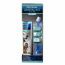 Pro-Sense Dental Kit Dog Oral Care Toothpaste Toothbrush Fingerbrush Cat Teeth
