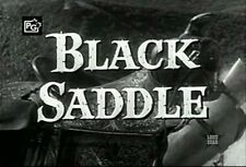 BLACK SADDLE 1959 WESTERN COMPLETE TV SERIES ON DVD PETER BRECK RUSSELL JOHNSON