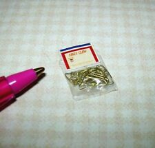 Miniature Tiny Filled Package of Fish Hooks for DOLLHOUSE Setting 1/12