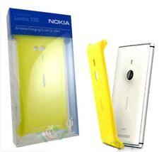 COVER ORIGINALE NOKIA LUMIA 720 BATTERYCOVER GIALLA WIRELESS CHARGING CC-3064