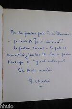 Achille Chavée Le grand cardiaque EO Dédicace signé à Pierre Dhainaut surrealism