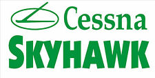 A205 Cessna Skyhawk Airplane banner hangar garage decor Aircraft signs