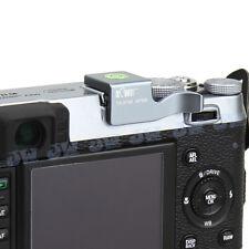Hot Shoe Thumb Grip With Bubble Spirit Level For Fujifilm FinePix X100 X100S SLV