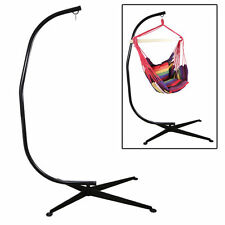 Hammock C Stand Solid Steel Construction For Hammock Air Porch Swing Chair US MY