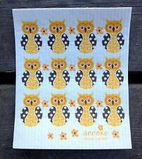 THE AMAZING SWEDISH DISH & CLEANING CLOTH OWL | ABSORBENT DISHCLOTH | OWLS