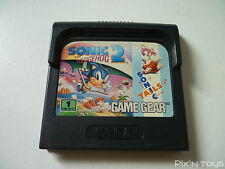 ►►►► SEGA GAME GEAR / Jeu Sonic the Hedgehog 2 [ Pal Version ]