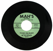 "BIG JACK REYNOLDS  ""YOU DON'T TREAT ME RIGHT""  CLASSIC R&B    LISTEN!"