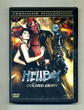 HELLBOY - THE GOLDEN ARMY # Universal Studios DVD-Video 2008