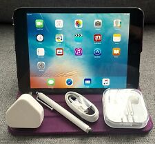 Apple iPad Mini 16GB, Wi-Fi + 4G (Unlocked), 7.9in - Black + EXTRAS