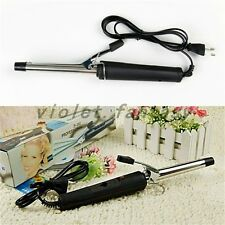 Hair waver wave Tapered Hair Hot Curling Curler Iron Wave Wand straighten 2 in 1