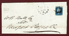 GB QV 1841 2d BLUE FF PLATE 3 SG14 GU ON ENTIRE