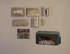 P&D Marsh N Gauge N Scale B14 Station bookstall (incl posters) kit needs paintng