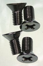 Classic Mini Door Striker Plate Screws x 4  Stainless 1275GT Cooper Clubman BL