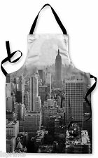 NEW YORK SKYLINE DESIGN APRON KITCHEN BBQ COOKING PAINTING GREAT GIFT IDEA