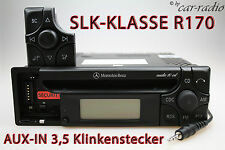 MERCEDES Autoradio Originale r170 SLK-CLASSE w170 audio 10 CD mf2199 Aux-in mp3