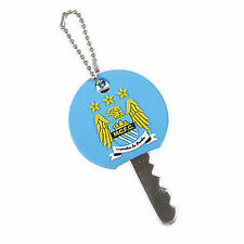 Manchester City F C Key Cap Crest Design Brand New Official Merchandise