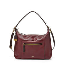 Fossil Vickery Shoulder Bag Maroon ZB6624601