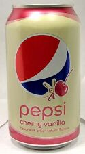 FULL NEW 12oz 355ml Can American Pepsi Cherry-Vanilla USA 2016 Limited Edition