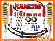 """TOYOTA HILUX KUN/GGN 2005-ON RANCHO & ARCHM4X4 3""""INCH 75mm SUSPENSION LIFT KIT"""