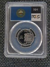 2000-S 25c New Hampshire SILVER Quarter Proof PCGS PR70DCAM State Flag Label