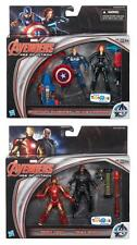 MARVEL AVENGERS AGE OF ULTRON 2 PACK SET OF 4 FIGURES TOYS R US EXCLUSIVE!