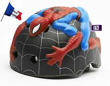 Casque de vélo enfant 1-3 ans 3D Spiderman réglable CRAZY SAFETY amazing 46-51