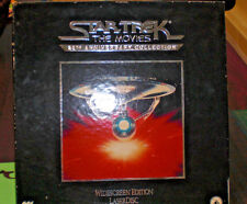 Star Trek The Movies, 25th Anniversary Collection, Laser Disc, Original Box Set