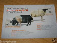 155 ct Blockausgabe Alte und Gefärdete Nutztierrassen postfrisch ungestempelt