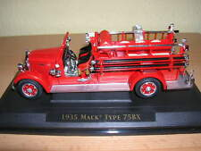 Yatming 1935 Mack Tipo 75BX Bombero Fire Fighter 1:43