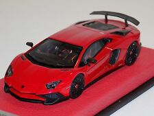 1/43 Looksmart Lamborghini Aventador SV LP750-4 SuperVeloce Rosso BIA Leather