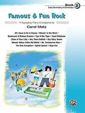 Famous & Fun Rock, Bk 2, Matz, Carol, New Books