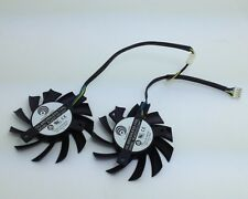 New 65mm Video Card Dual Fan For MSI 5770 6770 R6770 Twin Frozr II PLA07010S12HH