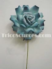 """Silk Party Flower Craft Supply Thai Mulberry Paper Rose 3 Pieces x 4""""- RP4554"""