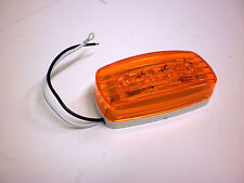 "1 - 2""x4""  Amber 4 LED Bargman Marker Clearance Light 47-58-032 RV Trailer # 58"