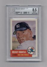 MICKEY MANTLE 1991 TOPPS ARCHIVES 1951 REPRINT #82 BGS 8.5 NM-MT+
