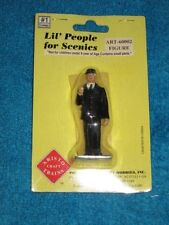 ARISTO-CRAFT LIL' PEOPLE FOR SCENICS #1 - G SCALE TRAIN CONDUCTOR  ART60002  NEW