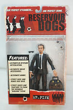 RESERVOIR DOGS ACTION FIGURE MR PINK MEZCO 2001 7in MOVIE TOY MIP MINT SEALED