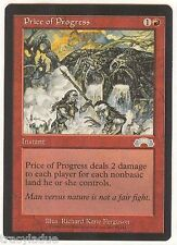 PRICE of PROGRESS X1  MAGIC Mtg - EXODUS - NEAR MINT/EXCELLENT (NMEX) UNPLAYED