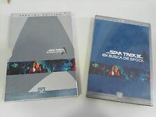 STAR TREK III EN BUSCA DE SPOCK 2 X DVD SPECIAL EDITION EDICION ESPAÑOLA ENGLISH