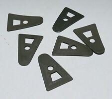 I Set di 6 A Washers per Liner Elmetto US M1 / Set of 6 green plates for Helmet