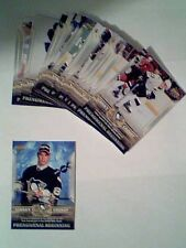 SIDNEY CROSBY 05/06 ROOKIE CARDS - PHENOMENAL BEGINNING COMPLETE 20-CARD SET