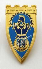 INSIGNE MILITAIRE 19 EME REGIMENT DE GENIE AB.ATLAS