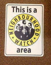 THIS IS A NEIGHBOURHOOD WATCH AREA SIGN - A4 WATERPROOF VINYL STICKER